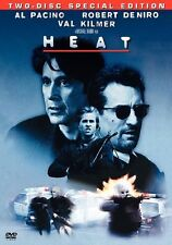 Heat (DVD, 1995) Al Pacino - Robert Deniro - SPECIAL EDITION - REGION 4 - FREE P