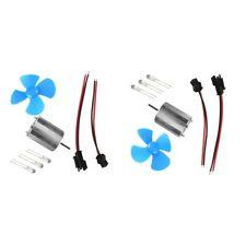 Ensemble de 2 kits de générateur d'énergie éolienne de petite éolienne