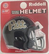 PITTSBURGH PITT PANTHERS NCAA Riddell SPEED POCKET PRO Mini Football Helmet