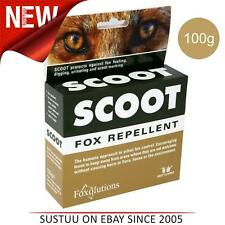 Scoot Fox Répulsif │ Humain Contrôle Urban Nuisible │ Animal Friendly │ 100g