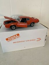 Danbury Mint 1969 Pontiac GTO Judge In Carousel Red Mint Condition