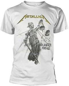 Metallica Men's and Justice for All T-Shirt White