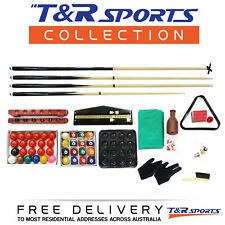 Full Accessories Kit for Pool Snooker Billiard Table Must Buy!