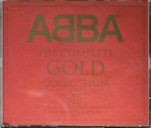 ABBA - THE COMPLETE GOLD COLLECTION LIMITED EDITION 2CD SET IN FAT BOX -VGC 2000