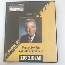 Zig Ziglar Cassette Tape Vol 1 How to Stay Motivated Dev. Qualities of Success