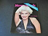 Newsweek- The Good Old Days-Marilyn Monroe- October 16, 1972- Magazine.