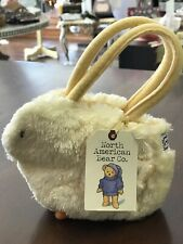 North American Bear Fuzzy Plush Spring Chick Goody Bag EASTER Tote purse NEW