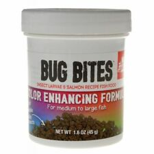LM Fluval Bug Bites Color Enhancing Formula for Medium-Large Fish (1.6 oz)