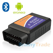 Bluetooth OBD2 Code Scanner Reader Automotive Diagnostic Tool Car OBDII ELM 327