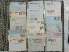 COLOMBIA AMAZING OLD POSTAL HISTORY COLLECTION OF 19 COVERS MOSTLY CENSSORED