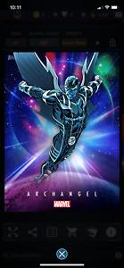 Topps Marvel Collect Universe Cosmic Archangel DIGITAL Super Rare! cc385