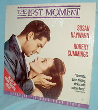 LD laserdisc THE LOST MOMENT Robert Cummings/Susan Hayward Psycho-Thriller!