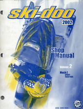2002 SKI-DOO MACH Z SPORT & TECH PLUS SHOP MANUAL