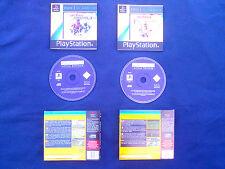 LOT 2 JEUX Sony PLAYSTATION PS1 PS2 : ACTUA SOCCER 3 + ACTUA TENNIS (sport)