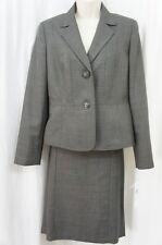 Le Suit Talla 8 pizarra marrón multicolor Hampton Bay Espalda con plisados
