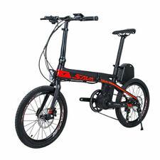 "SAVA Folding E-bike E8 20 "" Carbon Mini Electric Bike 36V 200W with Shimano 9S"
