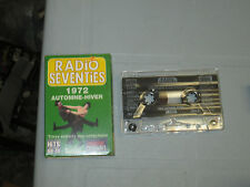 Radio Seventies - Automne-hiver 1972 (Cassette, Tape) WORKING GREAT TESTED