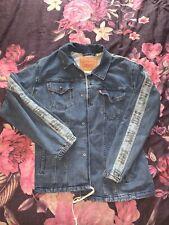 Levi's Men's Large Denim Jacket Levi Strauss Buttoned