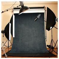 3x5FT Vinyl Photography Backdrop Wall Photo Background Dark gray W1H4