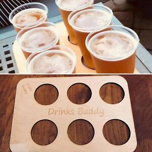 Drinks Holder, Vending, Holiday Tray, Cup Holder (Free Personalisation).