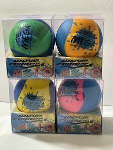 "Age 6+,WaveRunner Mega, 3.5"" Water Skipping Ball (1pc)Green,Yellow,Blue,Pink"