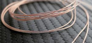 100cm FURUKAWA 30AWG 5N PERFECT CRYSTAL OCC (PCOCC) Wire Tonarm Innenkabel