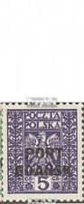 Pools Post Danzig 20-22 gestempeld 1929 Print editie