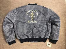 Vintage Golds Gym Bomber Style Men's Adult XXL Jacket