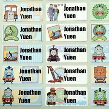 30 Thomas Iron On Labels Engine Train Friends Clothes Laundry Tags Kid Name Camp
