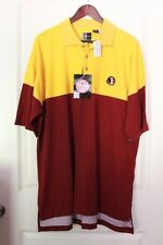 New! Florida State Seminoles Polo red and yellow XL MSRP $45 NWT