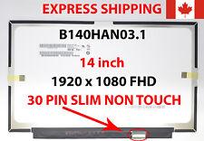 "New 14"" eDP 30 PIN FHD IPS LCD Screen for Lenovo FRU 00NY435 P/N SD10K93480"
