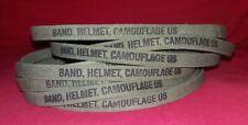 ELASTIQUE DE CASQUE US M-1 ORIGINALE NEUVE US ARMY VIETNAM