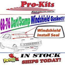 67 68 Dart 2 dr Sedan 68 70 76 Dart Valiant 2/4 dr Sedan Front Windshield Gasket