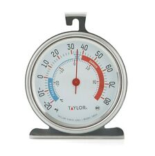 """Taylor Classic Series Freezer/Refrigerator Thermometer Large 3.25"""" Dial X Large"""