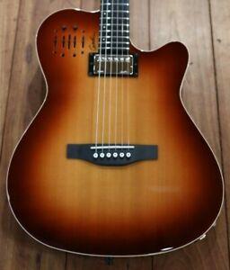 Godin A6 Ultra Cognac HG Acoustic Electric Guitar
