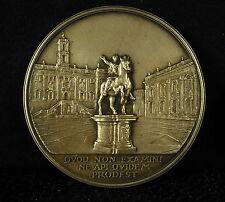 Médaille argent 900/1000 Nato College silver par Monti 113 g quod non .... Medal