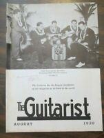 The Guitarist Magazine August 1939