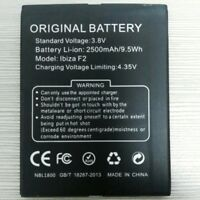 Ibiza F2 2500mAh 3.8V Li-ion Battery For DOOGEE Ibiza F2 CellPhone Warranty