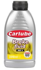Carlube Brf050 Dot 3 Brake Fluid 500ml