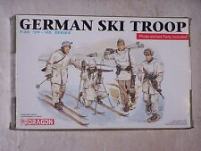 Figurines DRAGON 1/35ème GERMAN SKI TROOPS