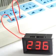 5pcslot 056 Ac 30v 500v Red Led Digital Voltmeter Voltage Meter Gauge Tester