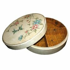 New Chinese White Paint Wood Storage Decoration Box   (LB-LW-FL)
