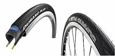 2 x SCHWALBE DURANO PERFORMACE PLUS ROAD BIKE TYRE 700 x 23 WIRED BLACK Pair