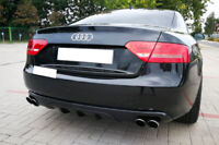 AUDI A5 COUPE CABRIO BUMPER SPOILER / DIFFUSER / FOR QUAD EXHAUST ( 2007- 2011 )