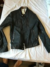 Gucci Jacket Size 48 leather trim