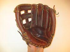 "Mag Plus Softball Mitt Glove Mp 2997 Leather Rht Baseball - 13.5"""