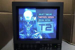 Vintage CRT JVC Video Monitor TM-900SU Retro Gaming Video