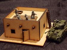 15MM Kit de Construcción de Paisaje Desierto Outpost fácil podría encajar llamas de la Guerra Juegos De Estilo