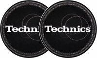 Par Fieltros Paños Antiestatico Tocadiscos Patinadores Technics Strobe Black