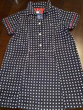 Tommy Hilfiger Toddler Girls Size 2T Polka Dot Short Sleeve Dress